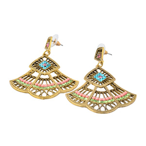 Indian bohemian Chandelier Earrings