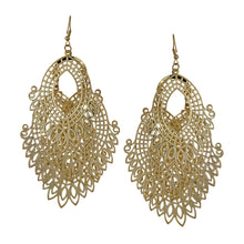 Load image into Gallery viewer, Chandelier Cutout Dangle Earrings