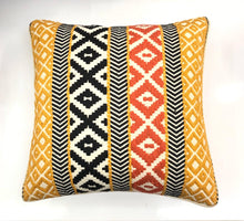 Load image into Gallery viewer, Decorative Yellow Multicolor Nova Woven Throw Pillow Cover