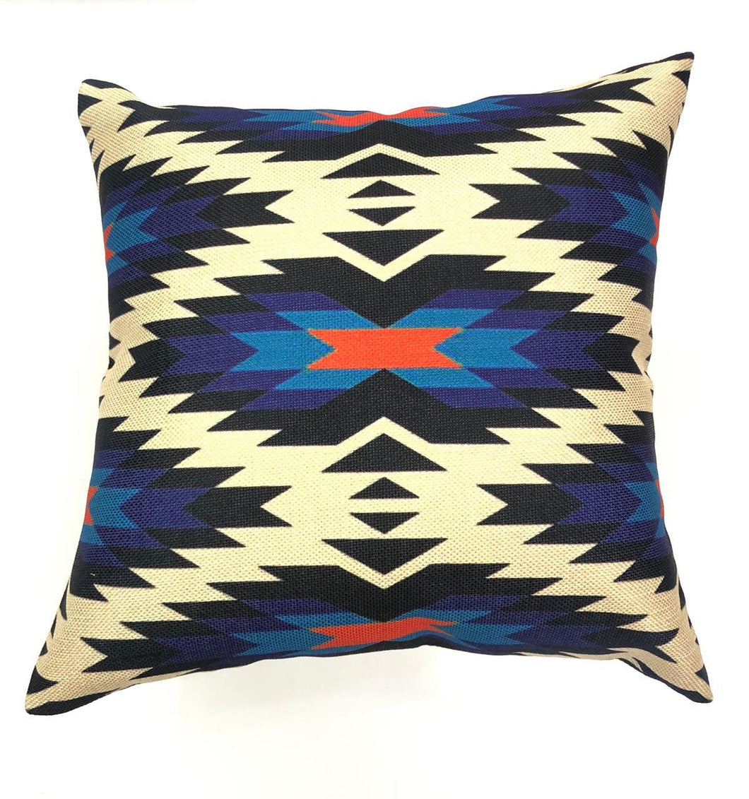 Aztec Geometric Print Throw Pillow Cover