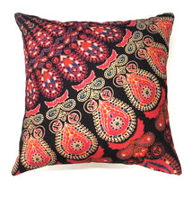Load image into Gallery viewer, Pink Decorative Rajasthani Mandala Throw Pillow Cover