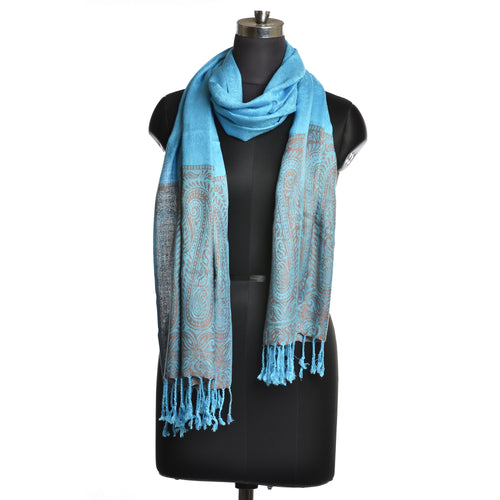 Blue Scarves For Women