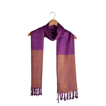Load image into Gallery viewer, Purple Scarf