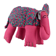 Load image into Gallery viewer, Cotton Stuffed Elephant Toy – Ethical Initiative Directly Benefits Wildlife
