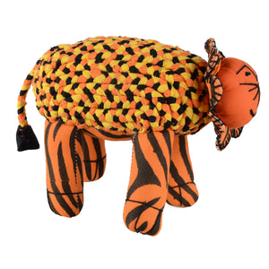 Cotton Stuffed Tiger Toy – Ethical Initiative Directly Benefits Wildlife