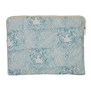 Handmade Block Print Laptop Sleeve 13.3 inch""