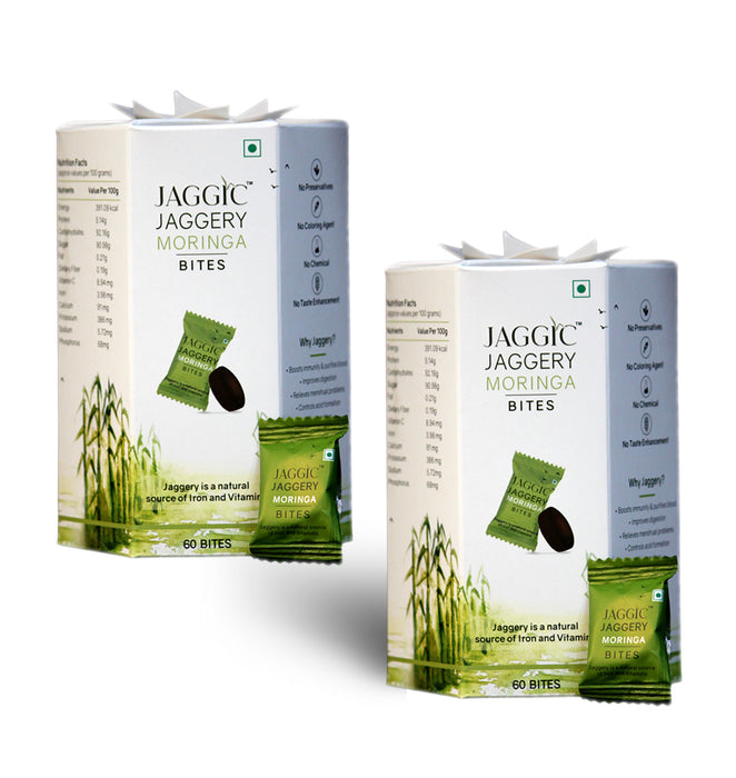 Jaggic Moringa Bites - Pack of 2