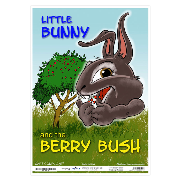 Little Bunny and the Berry Bush (Big Book)