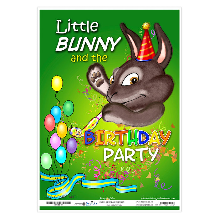 Little Bunny and the Birthday Party (Big Book)