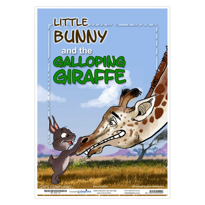 Little Bunny and the Galloping Giraffe (Big Book)