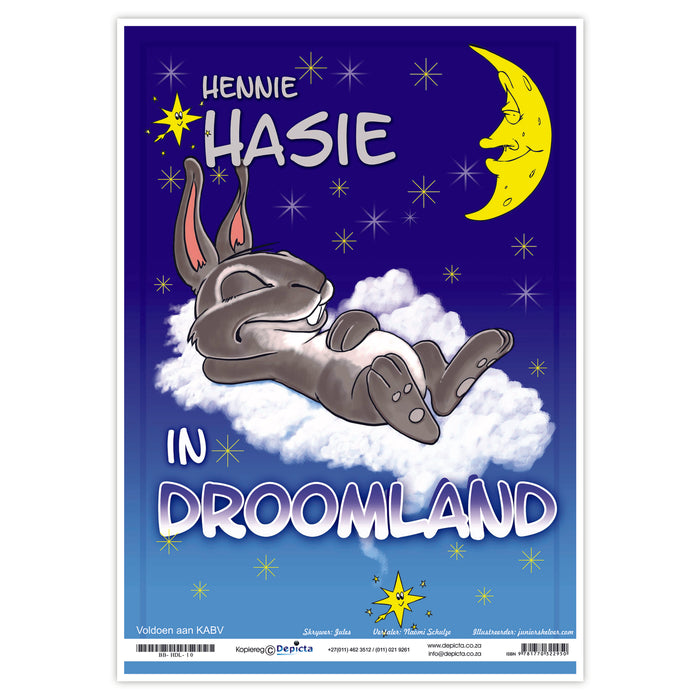 Hennie Hasie in Droomland (Big Book)