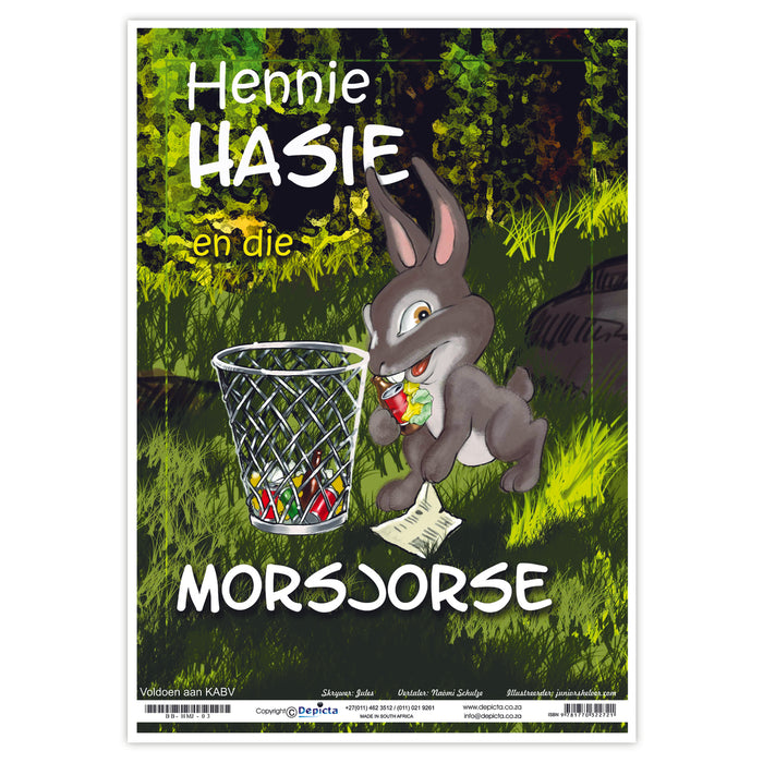 Hennie Hasie en die Morsjorse (Big Book)