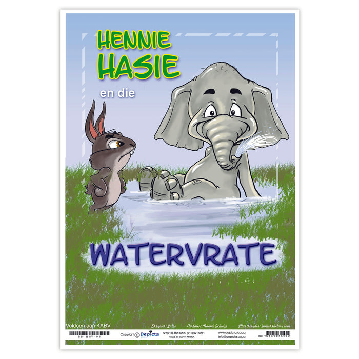Hennie Hasie en die Watervrate (Big Book)