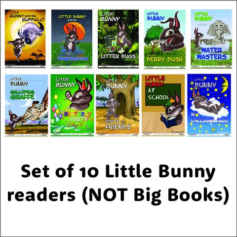 Little Bunny Readers - set of 10