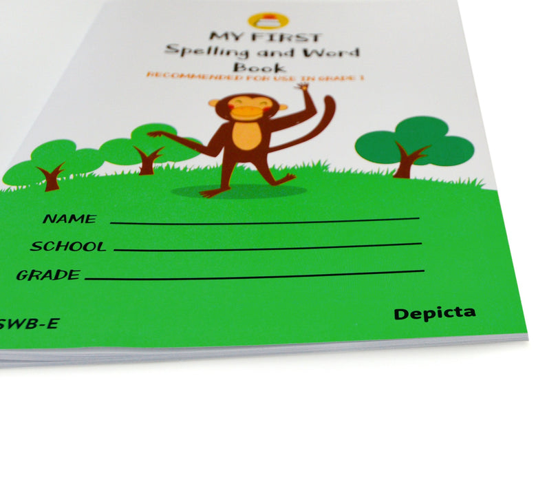 My First Spelling and Word Book