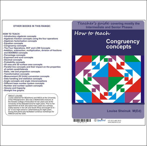 How to teach Congruency Concepts