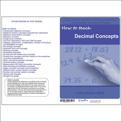 How to teach Decimal Concepts