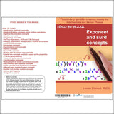 How to teach Exponent and Surd Concepts