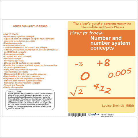 How to teach Number and Number System Concepts