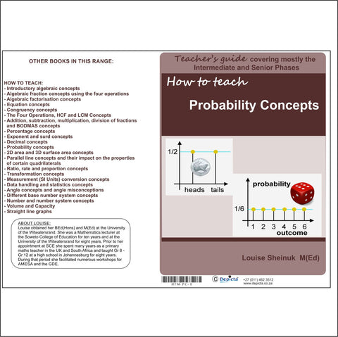 How to teach Probability Concepts