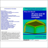 How to teach 2D area and 3D surface area concepts