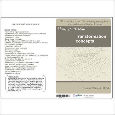 How to teach Transformation Concepts