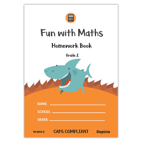 Fun with Maths Homework Book - Grade 2