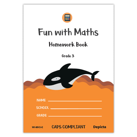 Fun with Maths Homework Book - Grade 3