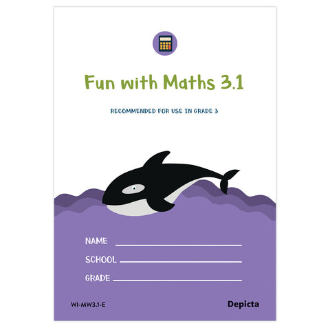 My Own Maths Workbook 3 Part 1 (single book)