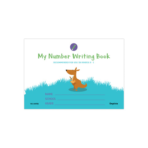 My Number Writing Book
