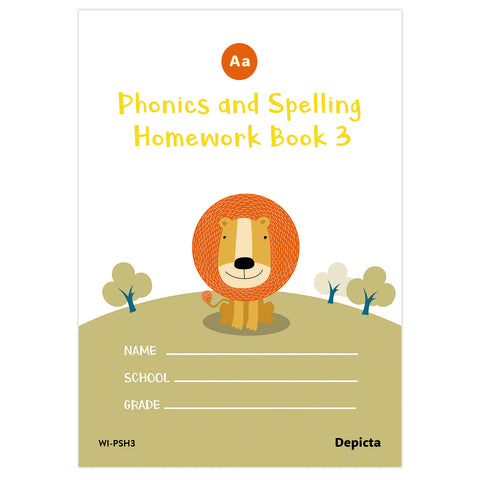 Phonics and Spelling Homework Book 3