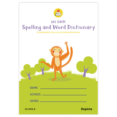 My Own Spelling and Word Dictionary (single book)