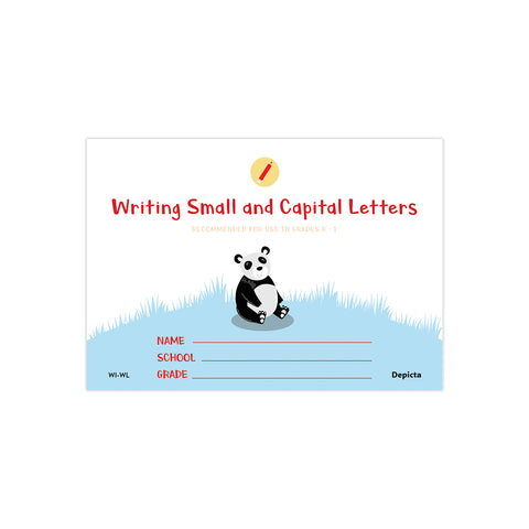 Writing Small and Capital Letters