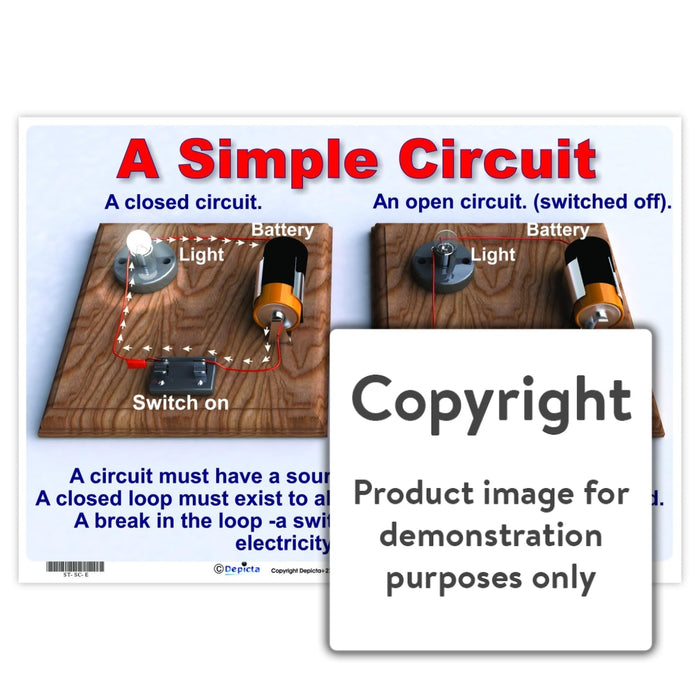 A Simple Circuit Wall Charts And Posters