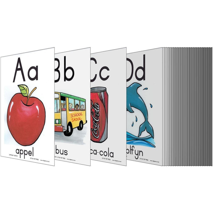 A - Z Alfabet A4 Wall Charts And Posters