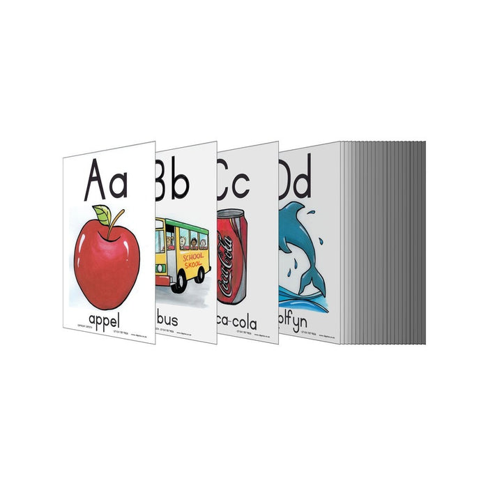 A - Z Alfabet A5 Wall Charts And Posters