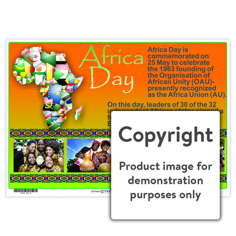 Africa Day Wall Charts And Posters