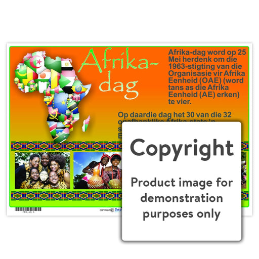 Afrika-Dag Wall Charts And Posters