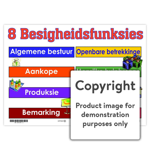 Agt Besigheidsfunksies Wall Charts And Posters