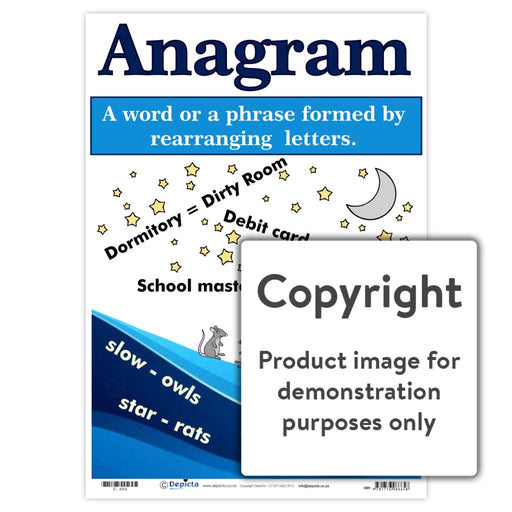 Anagram Wall Charts And Posters