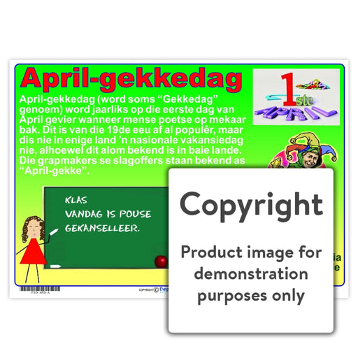 April-Gekkedag Wall Charts And Posters