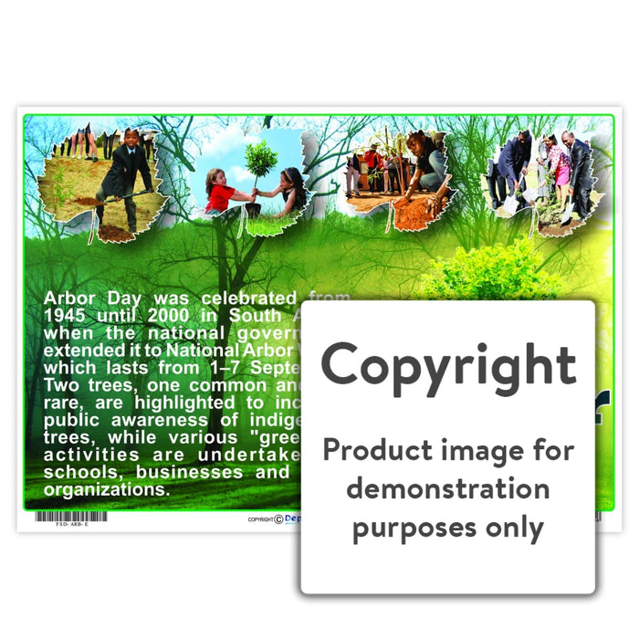 Arbor Day Wall Charts And Posters