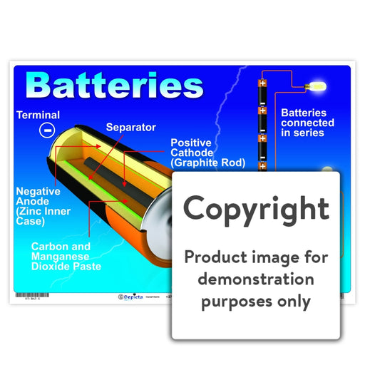Batteries Wall Charts And Posters