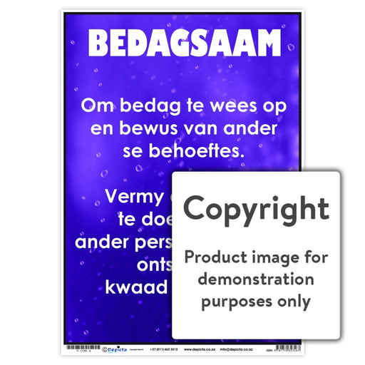 Bedagsaam Wall Charts And Posters