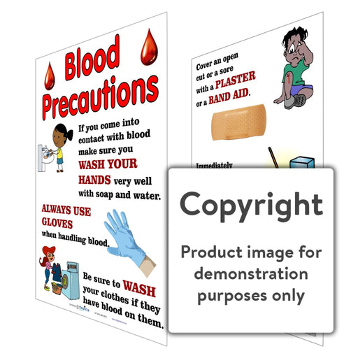 Blood Precautions Wall Charts And Posters