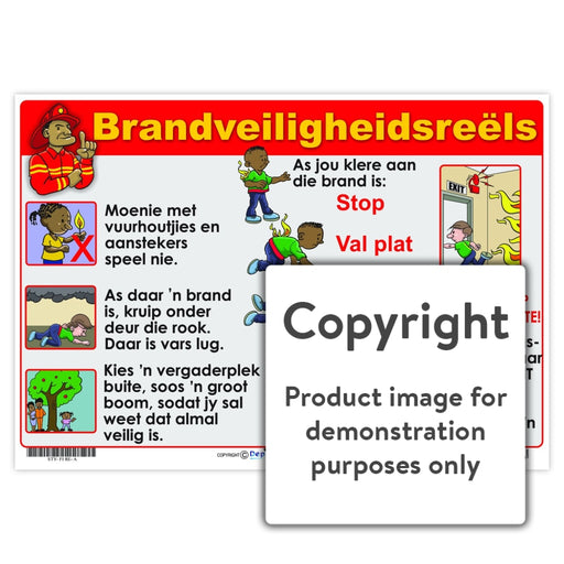 Brandveiligheidsreels Wall Charts And Posters