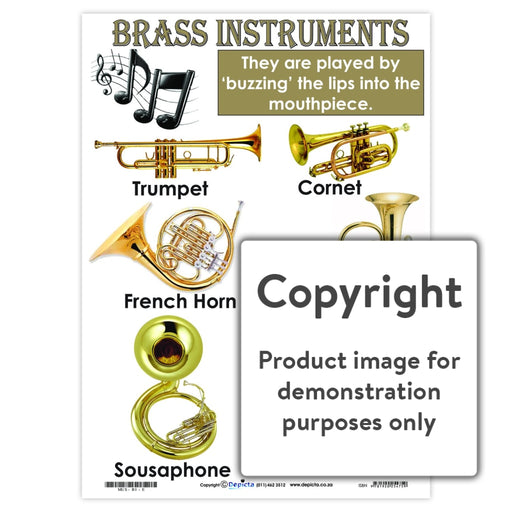 Brass Instruments Wall Charts And Posters