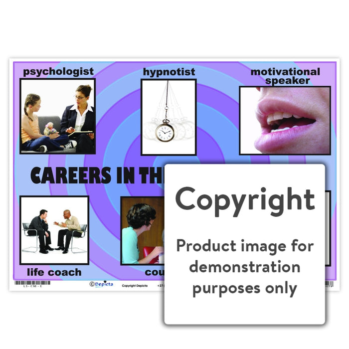 Careers In The Mind Industry Wall Charts And Posters