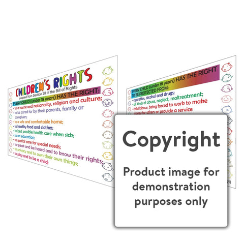 Childrens Rights Wall Charts And Posters