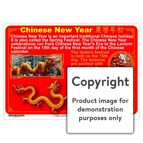 Chinese New Year Wall Charts And Posters